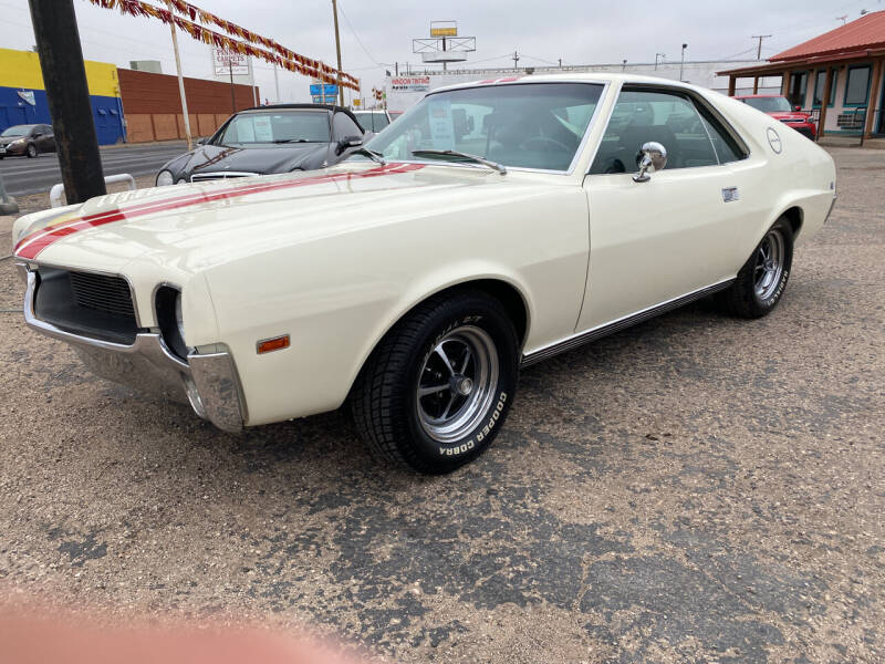 1969 AMC AMX for sale in Odessa, TX