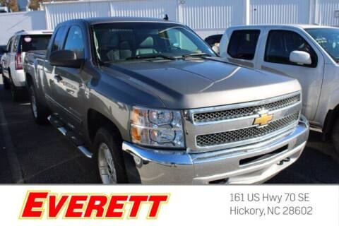 2013 Chevrolet Silverado 1500 for sale at Everett Chevrolet Buick GMC in Hickory NC