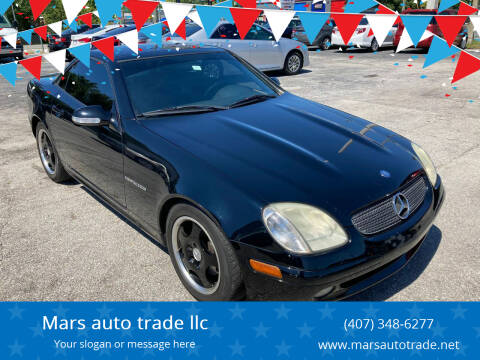 2002 Mercedes-Benz SLK for sale at Mars auto trade llc in Kissimmee FL
