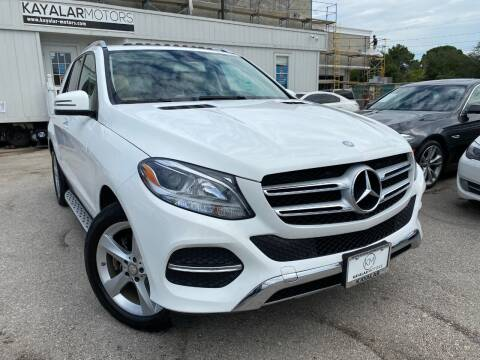 2016 Mercedes-Benz GLE for sale at KAYALAR MOTORS in Houston TX