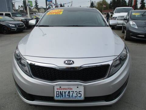 2013 Kia Optima for sale at GMA Of Everett in Everett WA