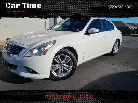 2013 Infiniti G37 Sedan for sale at Car Time in Denver CO