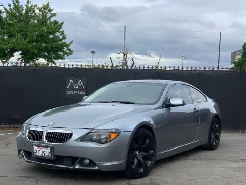 2004 BMW 6 Series for sale at AutoAffari LLC in Sacramento CA