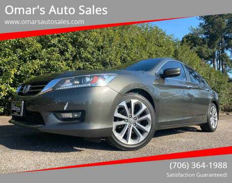 2014 Honda Accord for sale at Omar's Auto Sales in Martinez GA