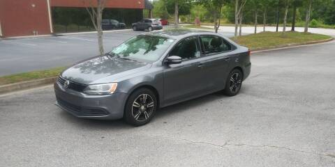 2011 Volkswagen Jetta for sale at Georgia Fine Motors Inc. in Buford GA