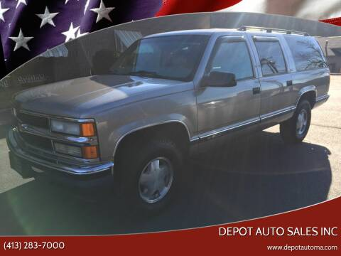 1999 Chevrolet Suburban for sale at Depot Auto Sales Inc in Palmer MA