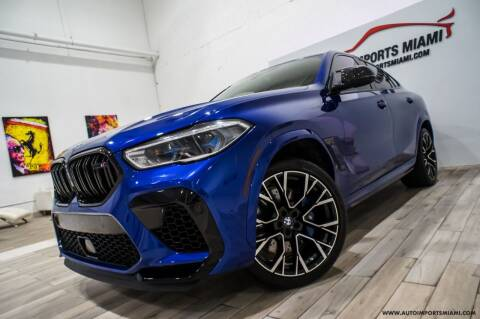 2021 BMW X6 M for sale at AUTO IMPORTS MIAMI in Fort Lauderdale FL