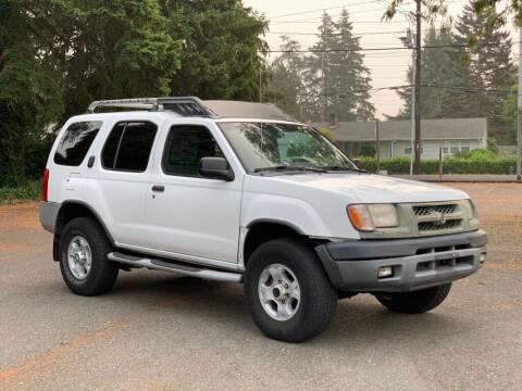 2000 Nissan Xterra for sale at Q Motors in Lakewood WA