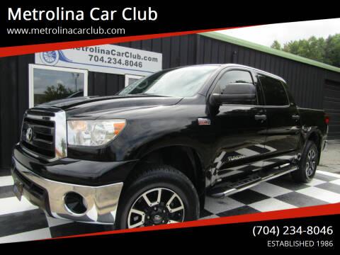 2013 Toyota Tundra for sale at Metrolina Car Club in Matthews NC