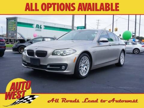 2015 BMW 5 Series for sale at Autowest of Plainwell in Plainwell MI