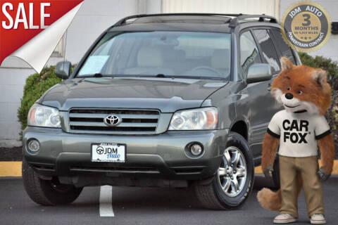 2007 Toyota Highlander for sale at JDM Auto in Fredericksburg VA