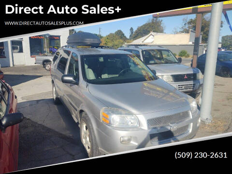 2008 Chevrolet Uplander for sale at Direct Auto Sales+ in Spokane Valley WA