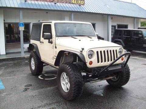 2011 Jeep Wrangler for sale at LONGSTREET AUTO in St Augustine FL