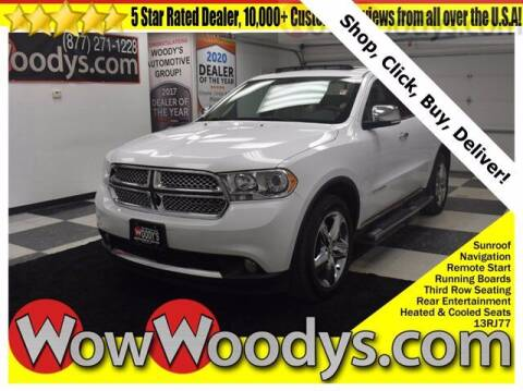 2013 Dodge Durango for sale at WOODY'S AUTOMOTIVE GROUP in Chillicothe MO