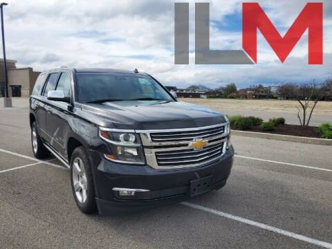 2015 Chevrolet Tahoe for sale at INDY LUXURY MOTORSPORTS in Fishers IN