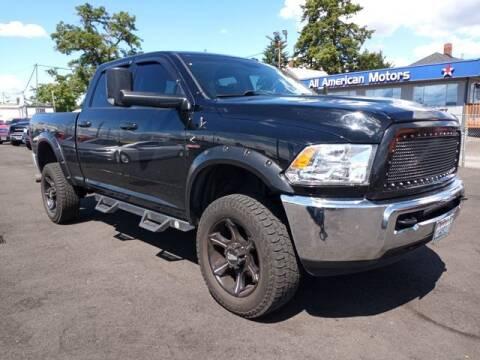2015 RAM Ram Pickup 2500 for sale at All American Motors in Tacoma WA