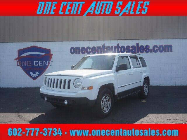 2015 Jeep Patriot for sale at One Cent Auto Sales in Glendale AZ