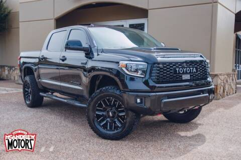 2019 Toyota Tundra for sale at Mcandrew Motors in Arlington TX