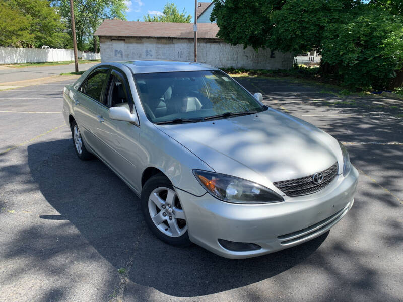 2002 Toyota Camry for sale at Ace's Auto Sales in Westville NJ