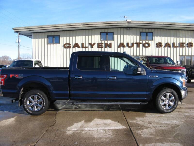 2018 Ford F-150 for sale at Galyen Auto Sales Inc. in Atkinson NE
