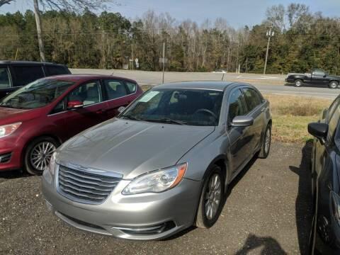 2014 Chrysler 200 for sale at Ebert Auto Sales in Valdosta GA