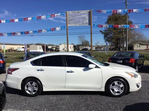 2015 Nissan Altima for sale at Affordable Autos II in Houma LA