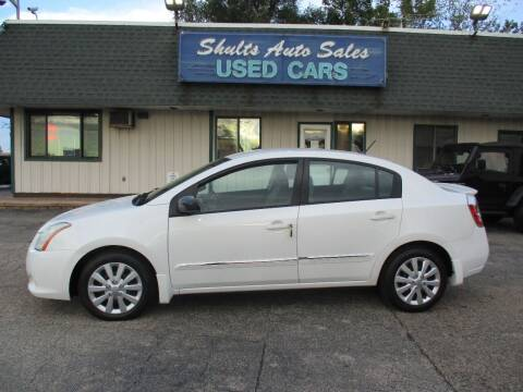 2011 Nissan Sentra for sale at SHULTS AUTO SALES INC. in Crystal Lake IL