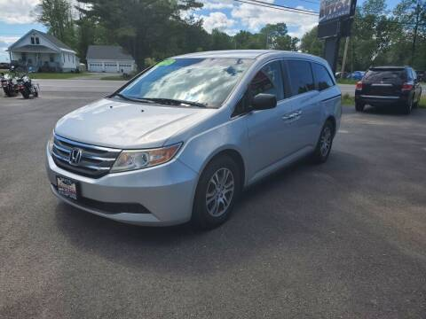 2012 Honda Odyssey for sale at Excellent Autos in Amsterdam NY