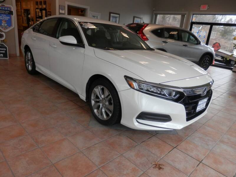 2018 Honda Accord for sale at ABSOLUTE AUTO CENTER in Berlin CT