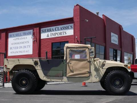 1987 AM General Hummer for sale at Sierra Classics & Imports in Reno NV