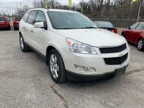 2012 Chevrolet Traverse for sale at Super Wheels-N-Deals in Memphis TN