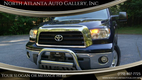 2008 Toyota Tundra for sale at North Atlanta Auto Gallery, Inc in Alpharetta GA