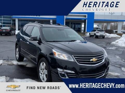 2016 Chevrolet Traverse for sale at HERITAGE CHEVROLET INC in Creek MI