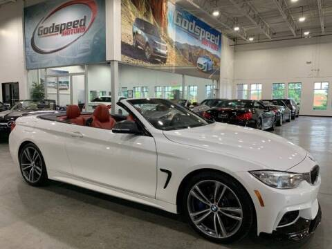 2016 BMW 4 Series for sale at Godspeed Motors in Charlotte NC