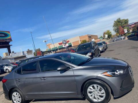 2018 Hyundai Elantra for sale at Sanaa Auto Sales LLC in Denver CO