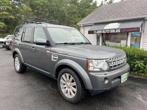 2013 Land Rover LR4 for sale at Clear Auto Sales in Dartmouth MA