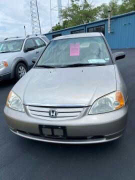 2002 Honda Civic for sale at MJ'S Sales in Foristell MO