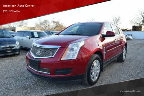 2011 Cadillac SRX for sale at American Auto Center in Austin TX