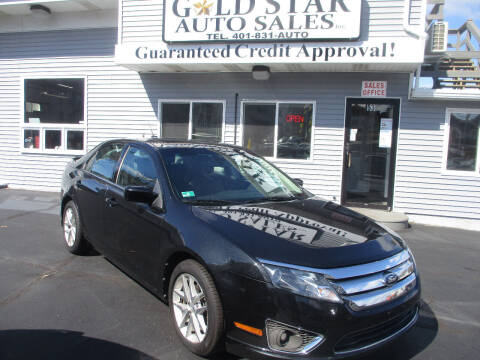 2012 Ford Fusion for sale at Gold Star Auto Sales in Johnston RI