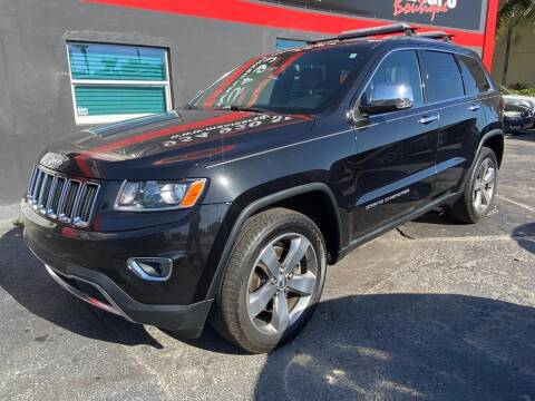 2014 Jeep Grand Cherokee for sale at Maxicars Auto Sales in West Park FL