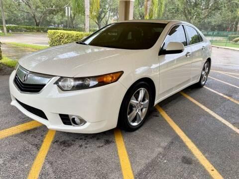 2011 Acura TSX for sale at DENMARK AUTO BROKERS in Riviera Beach FL