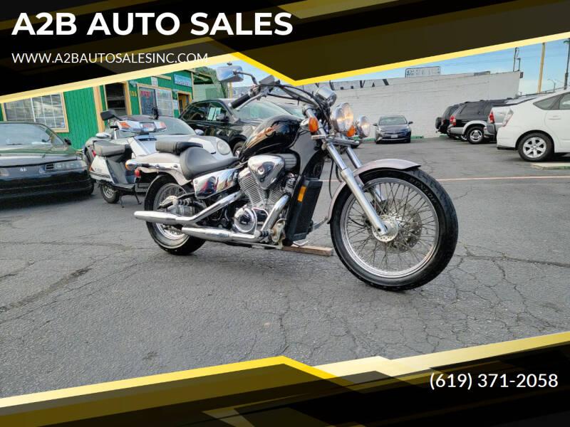 2000 Honda Shadow for sale at A2B AUTO SALES in Chula Vista CA