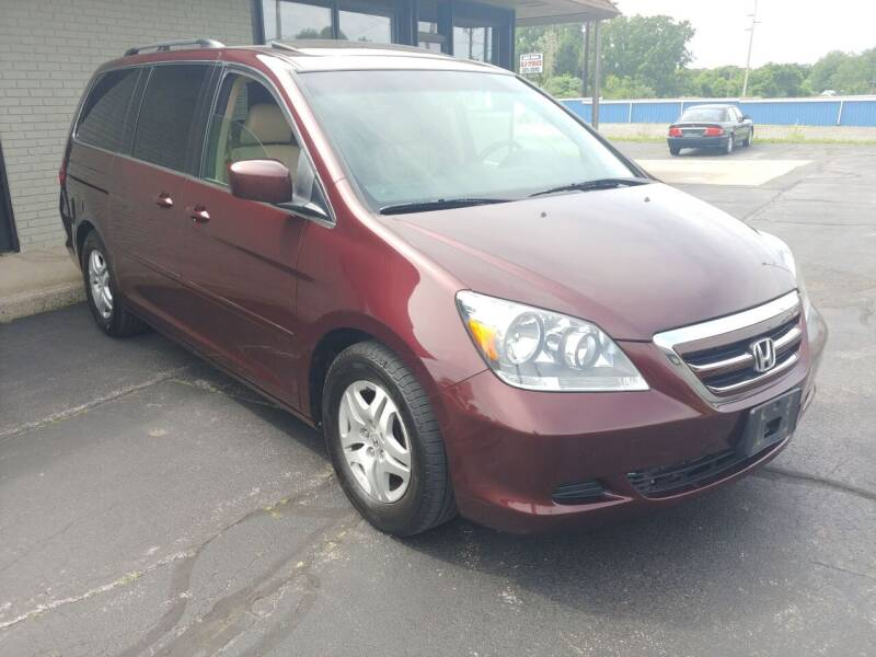 2007 Honda Odyssey for sale at Elbrus Auto Brokers, Inc. in Rochester NY