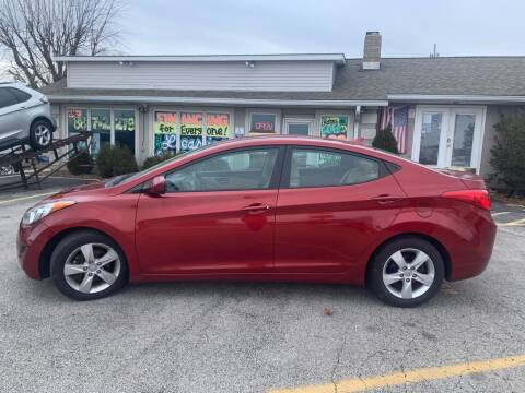 2013 Hyundai Elantra for sale at Revolution Motors LLC in Wentzville MO
