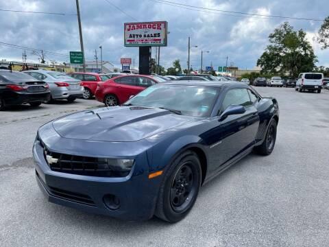 2012 Chevrolet Camaro for sale at Jamrock Auto Sales of Panama City in Panama City FL