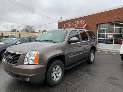 2013 GMC Yukon for sale at Cote & Sons Automotive Ctr in Lawrence MA