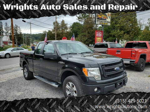 2013 Ford F-150 for sale at Wrights Auto Sales and Repair in Dolgeville NY