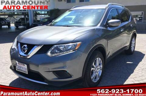 2016 Nissan Rogue for sale at PARAMOUNT AUTO CENTER in Downey CA