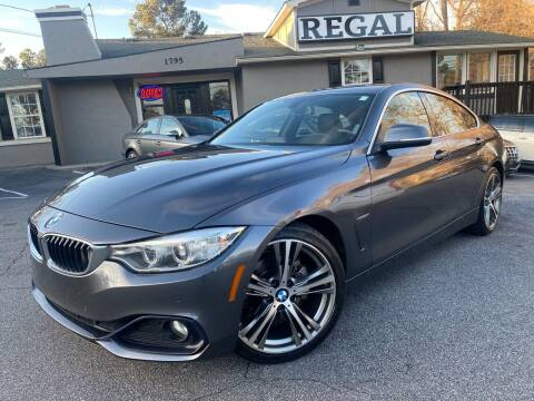 2016 BMW 4 Series for sale at Regal Auto Sales in Marietta GA