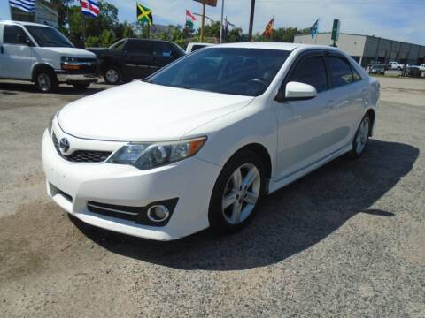 2014 Toyota Camry for sale at J & F AUTO SALES in Houston TX